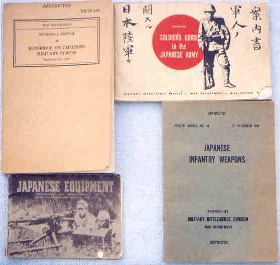 Allied WWII Manual Extracts on Japanese Handguns